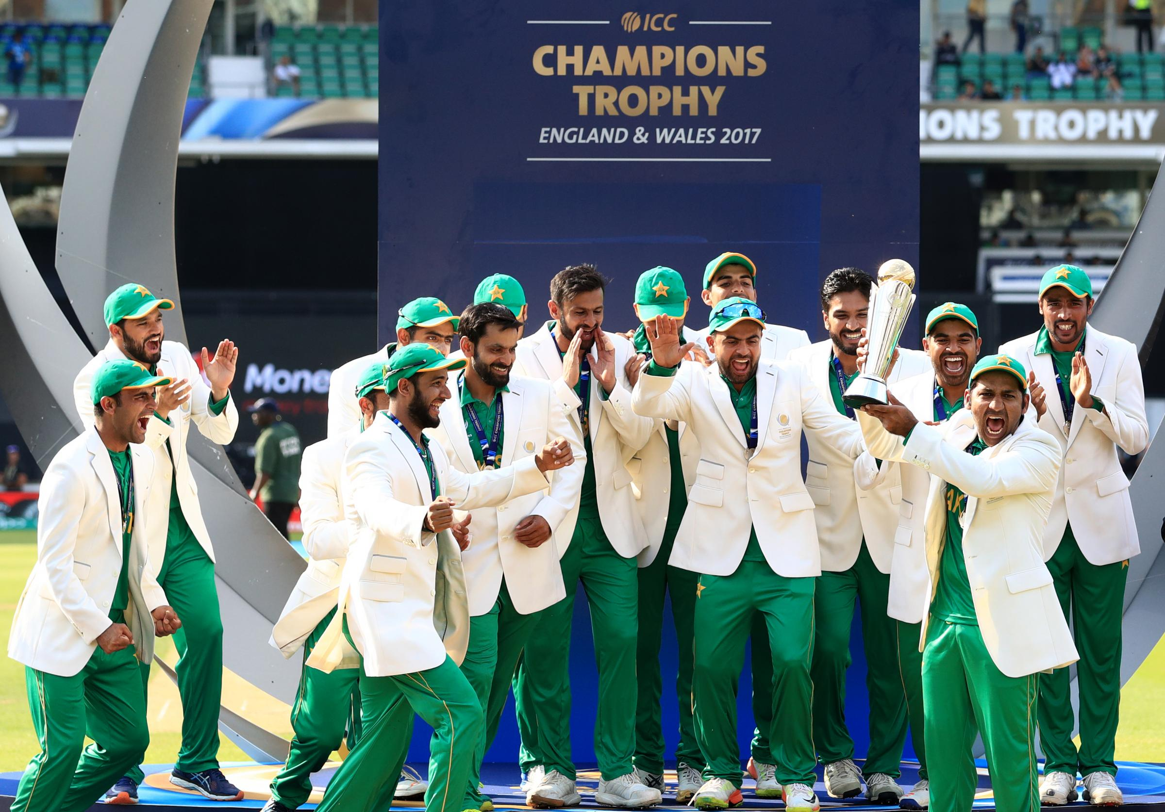 Pakistan win Champions Trophy